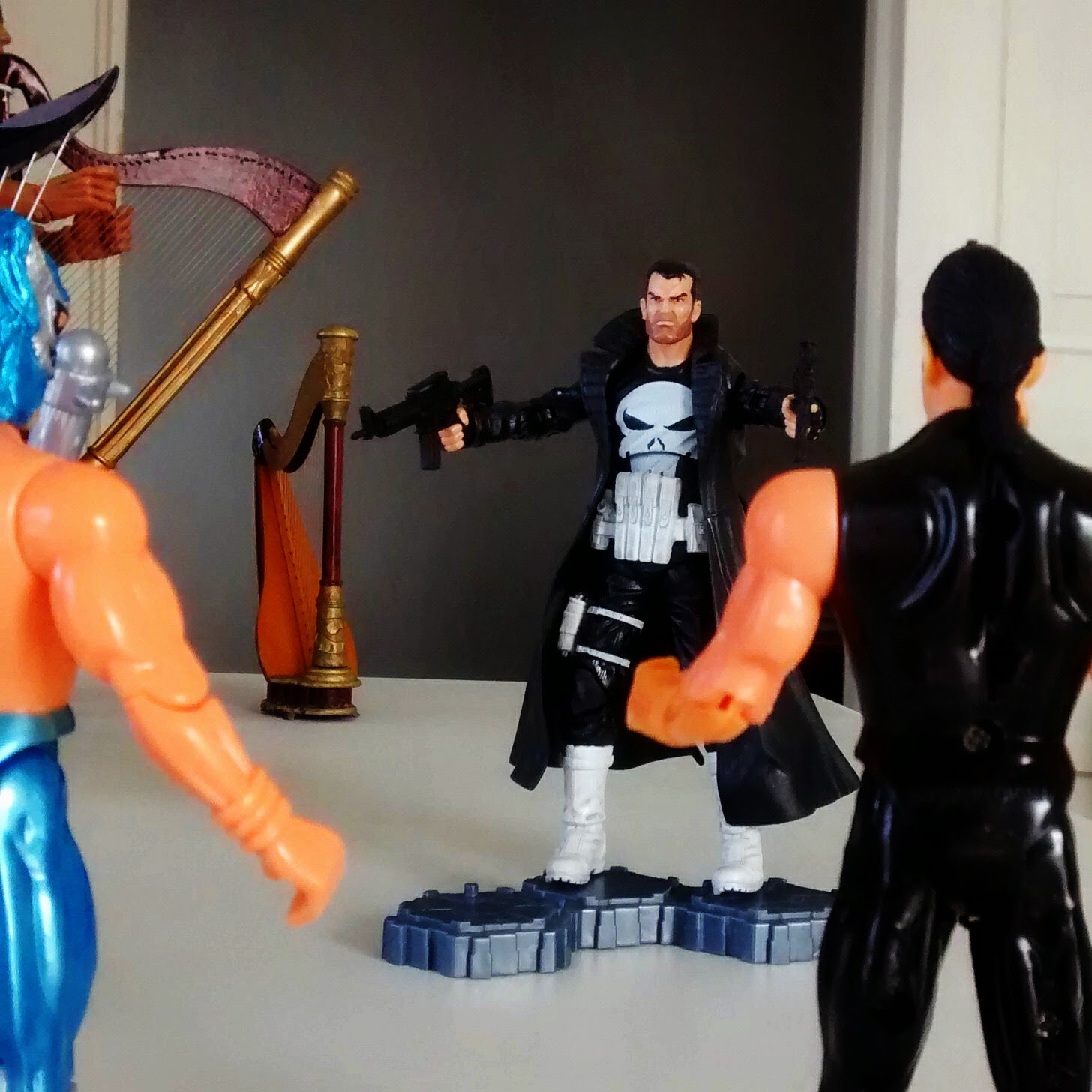 The Punisher vs Cheap Plastic Wrestlers 2