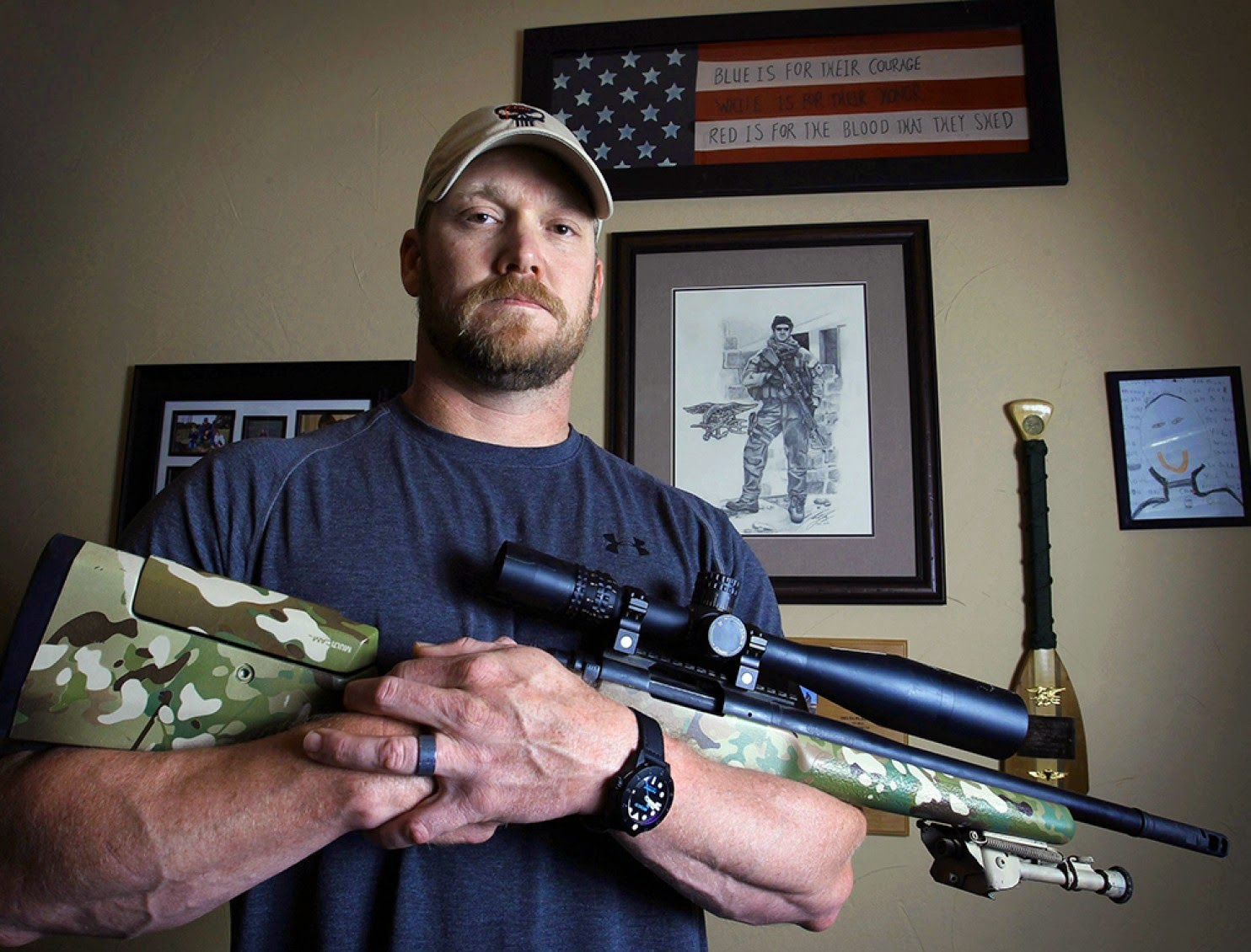 Chris Kyle, The Real Life Punisher.