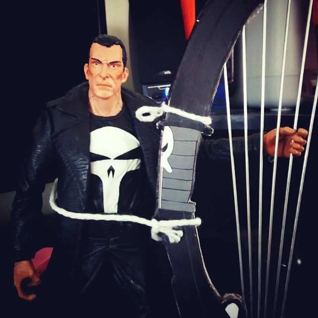 100th post showing The Punisher and WarHarp.