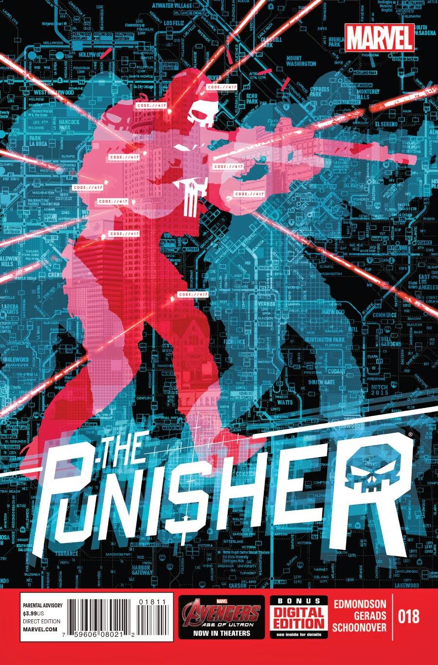 Cover to Punisher #18