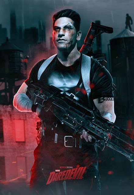 Jon Berthal as The Punisher!