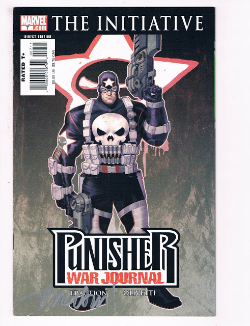 Cover of Punisher War Journal #7 (2007)