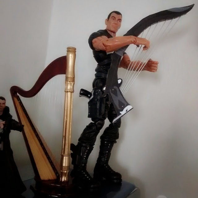 12'' Punisher rocking out with WarHarp.
