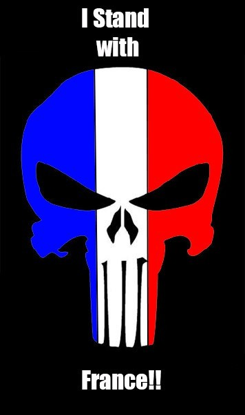 I STAND WITH FRANCE!!