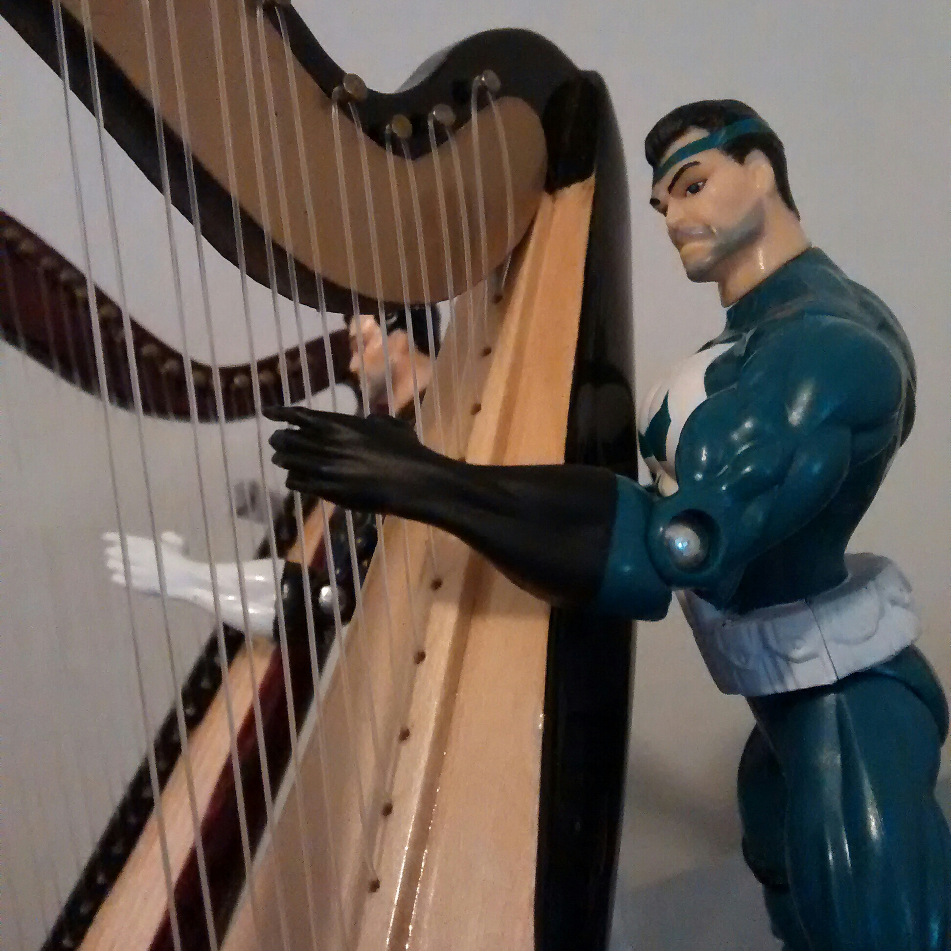 More Harp enjoyment from The Punisher.