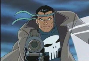 The Punisher from Spiderman and Animated Series