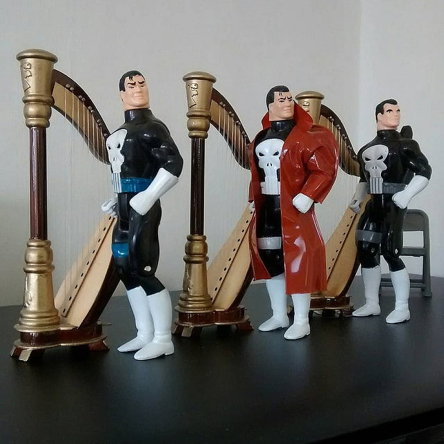 The Punisher Harp Trio.