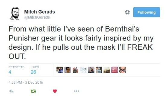 Latest tweet from Mitch Gerads