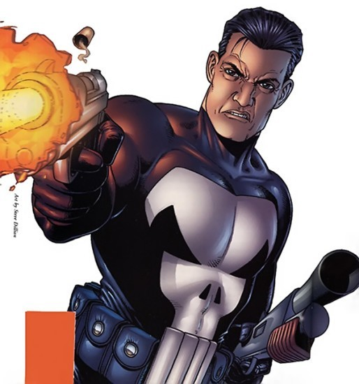 The Punisher from Garth Ennes comic run.