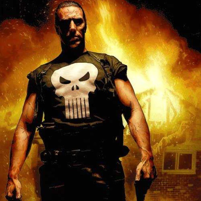Cool Punisher art by Tim Bradstreet.