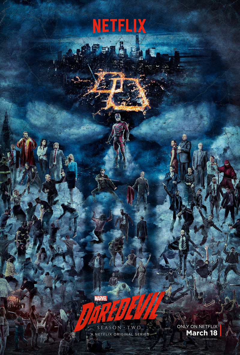 Official poster for Daredevil Season 2
