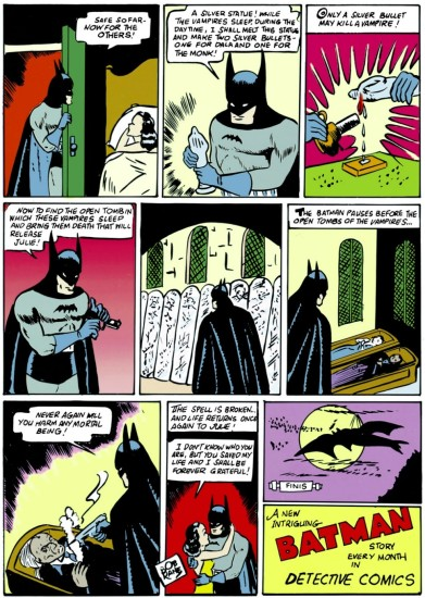 Batman kills Mad Monk.