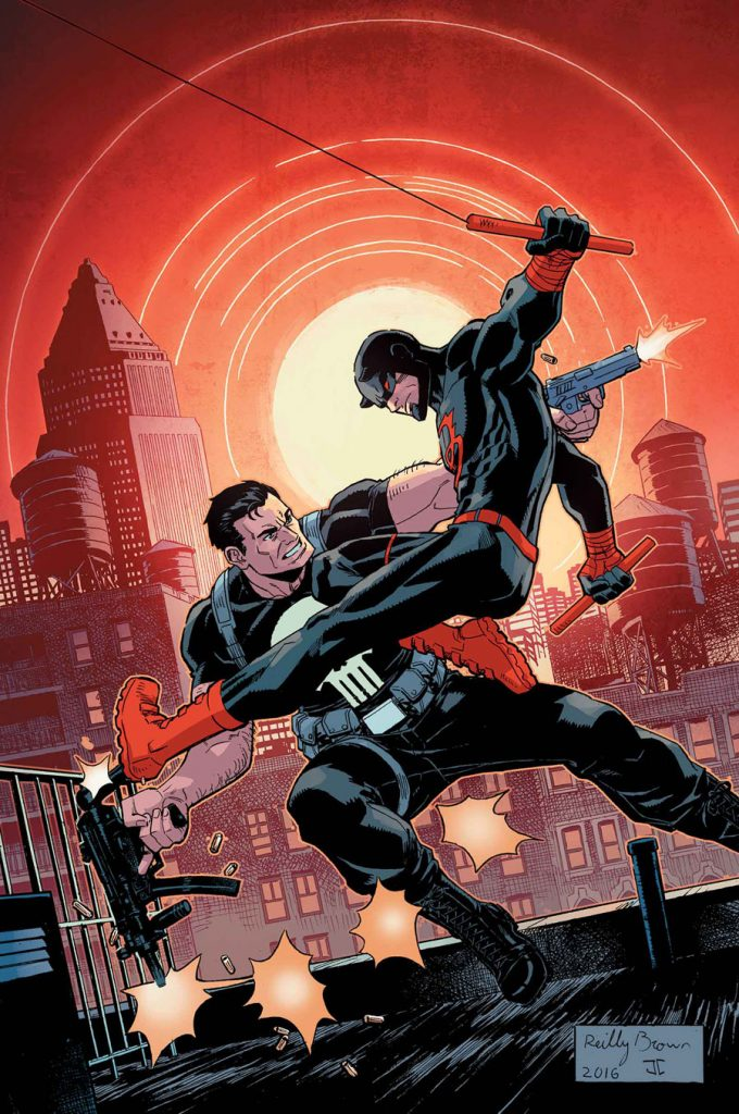 Cover to Punisher/Daredevil #4