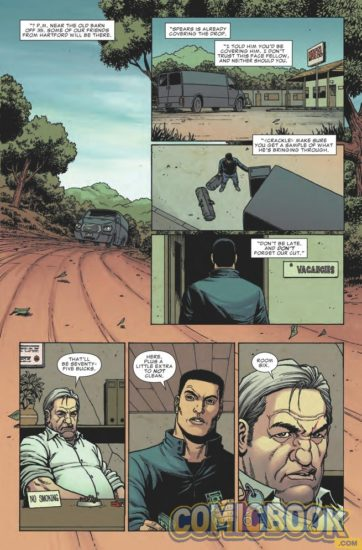 Preview page of Punisher #2