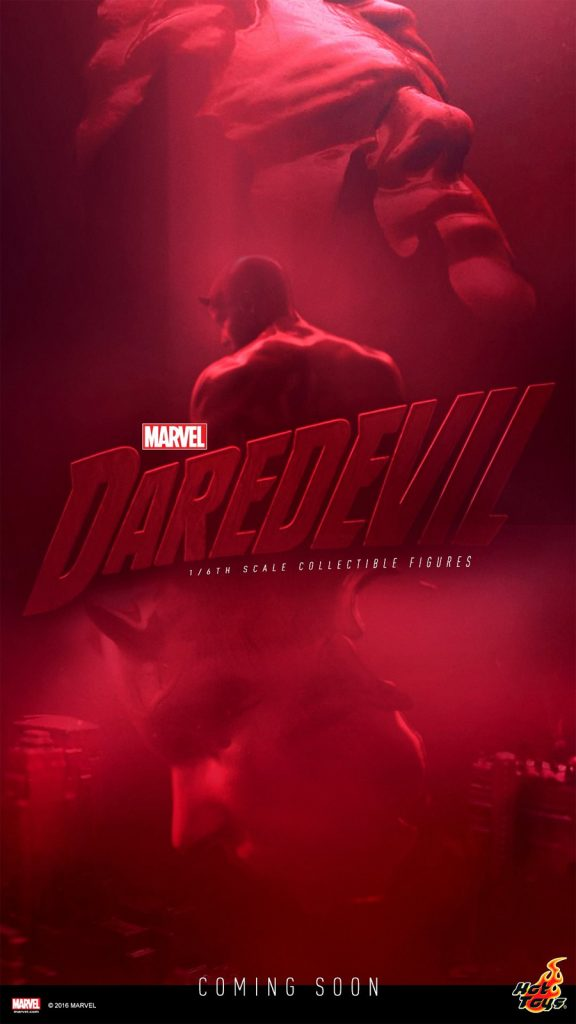 Action figures based on The Punisher and Daredevil from Netflix's Daredevil season 2 coming soon.
