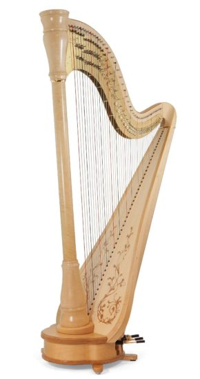 The Camac Athena EX, my very own harp.