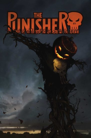 Cover to Punisher Annual Halloween Edition