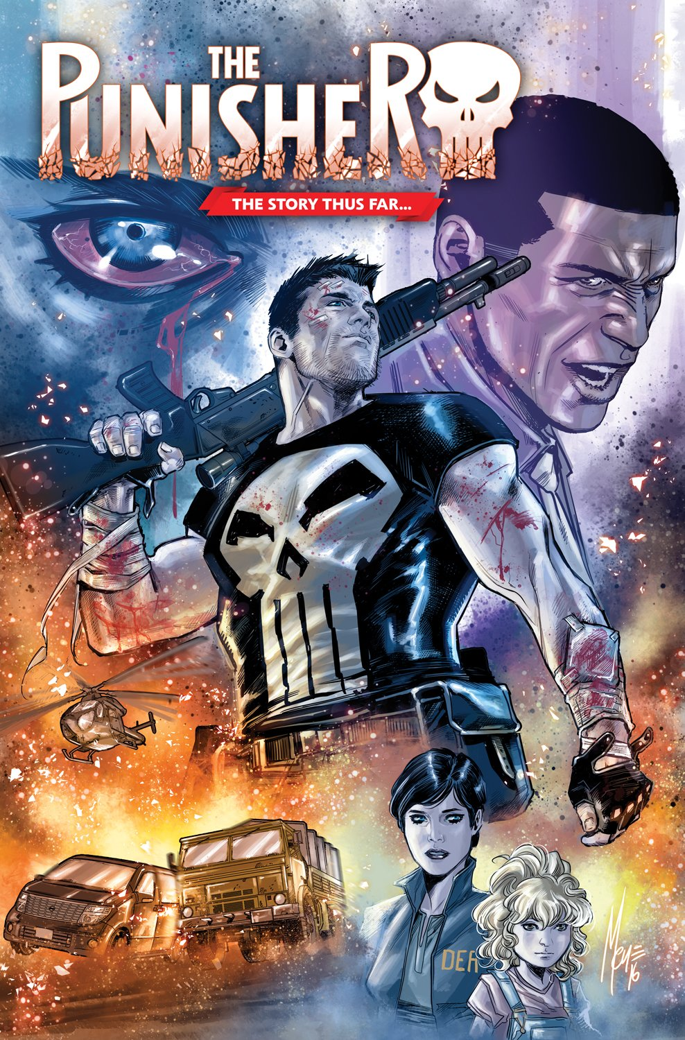 Variant Cover to Punisher #7 by Marco Checchetto.