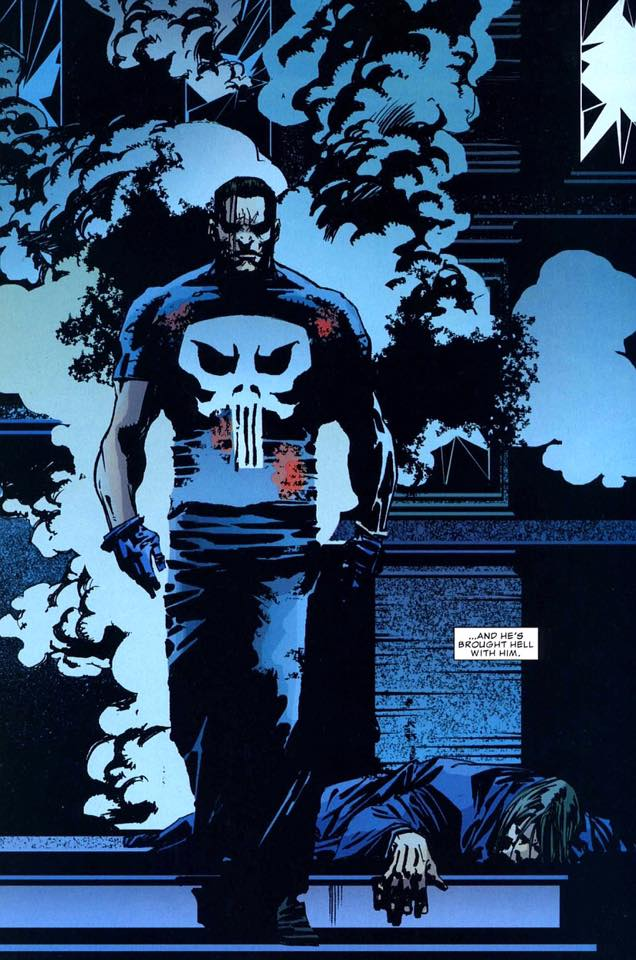 The Punisher invades The Suicide Slums in Metropolis!