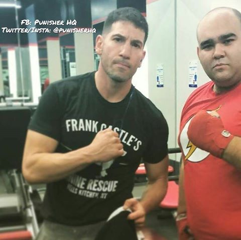 Jon Bernthal's awesome in his shirt!