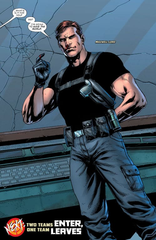 The Punisher vs. Maxwell Lord