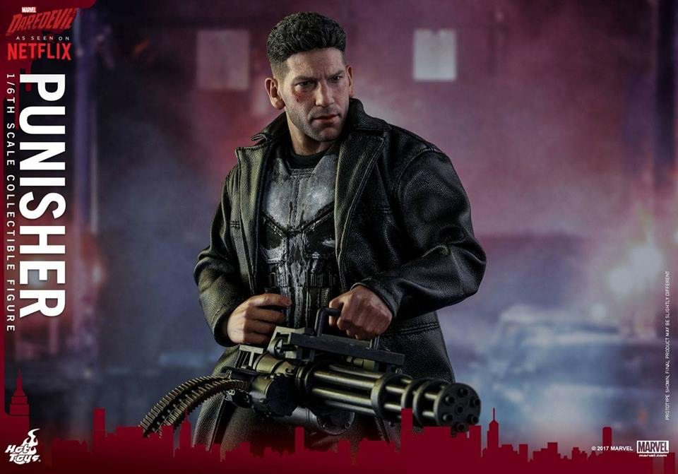 Jon Bernthal Punisher figure from Hot Toys 9