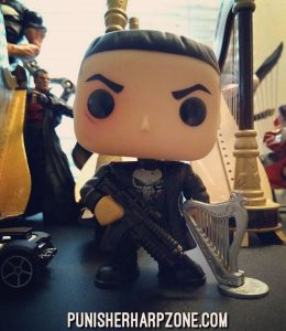 The Jon Bernthal Punisher figure from Funko Pop Toys.