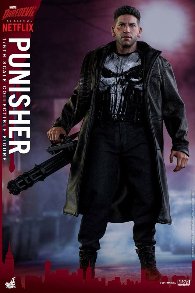 Jon Bernthal Punisher figure from Hot Toys 4