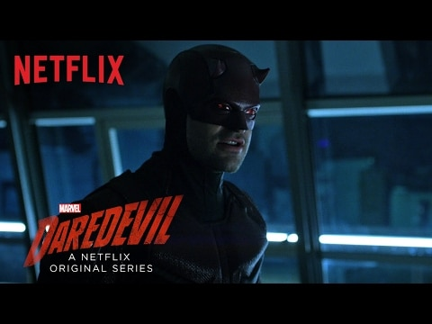 Here it is. Part Two of Daredevil Season 2 from Netflix.