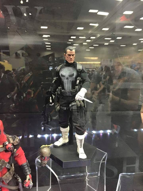 #SDCC Unveils The Hottest Punisher Figure Yet!