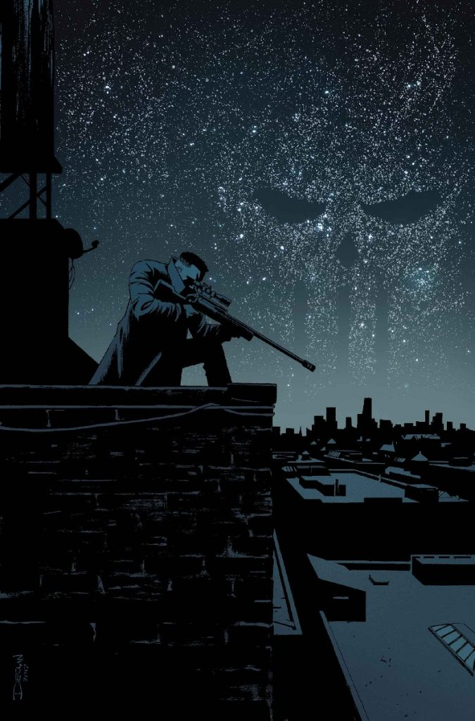 Cover to Punisher #14 by Declan Shalvey