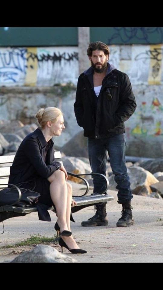 Frank (played by Jon Bernthal) and Karen (Deborah Ann Woll).