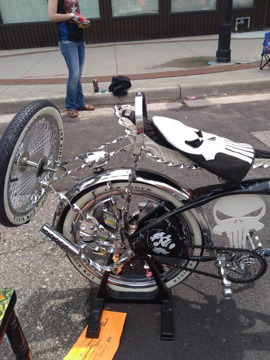 One awesome Punisher Bike in detail 2