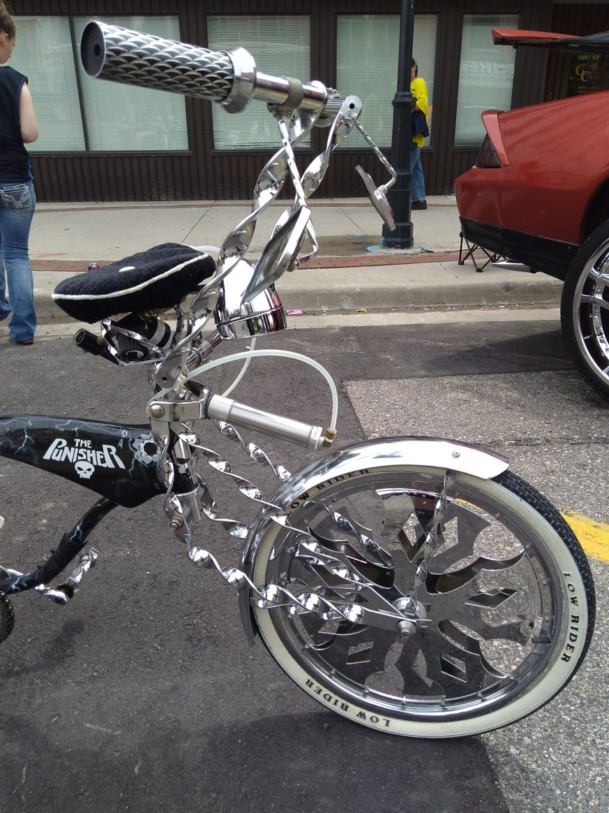 One awesome Punisher Bike in detail 1