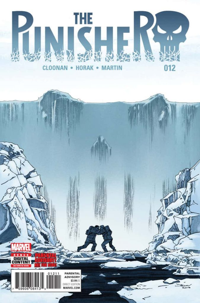 Cover to Becky Cloonan's Punisher #12