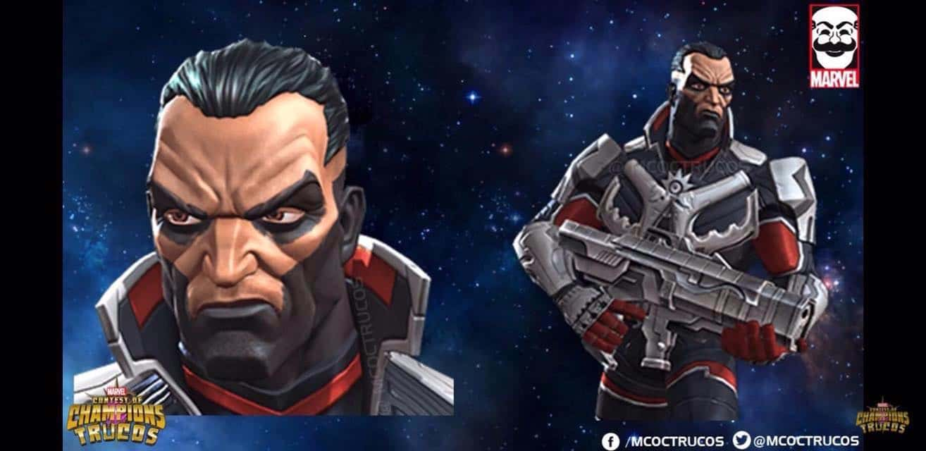 Punisher from Marvel's Contest of Champions 2017