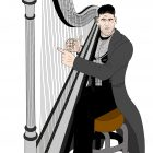 NEW PUNISHER HARP ART! Jon Bernthal as The Punisher Harps Again