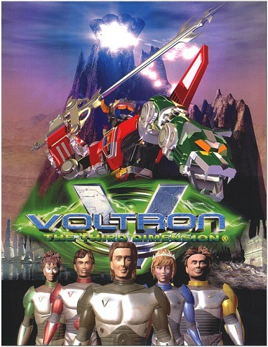 How bad is 3D Voltron? This bad!