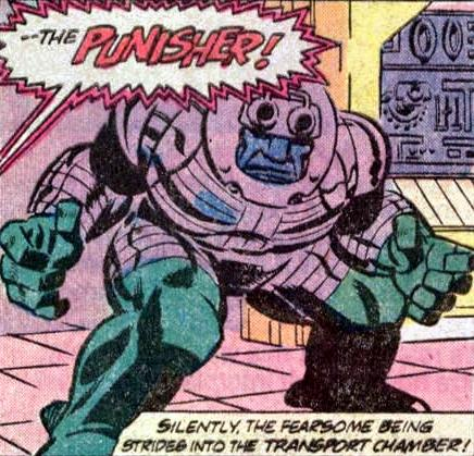 The Original Punisher was once existed long before the other Punisher came along.
