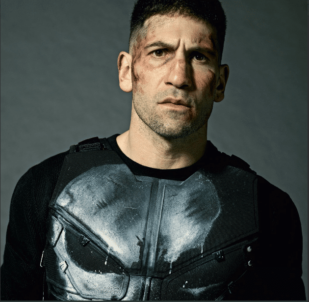 Jon Bernthal as The Punisher up close and personal!