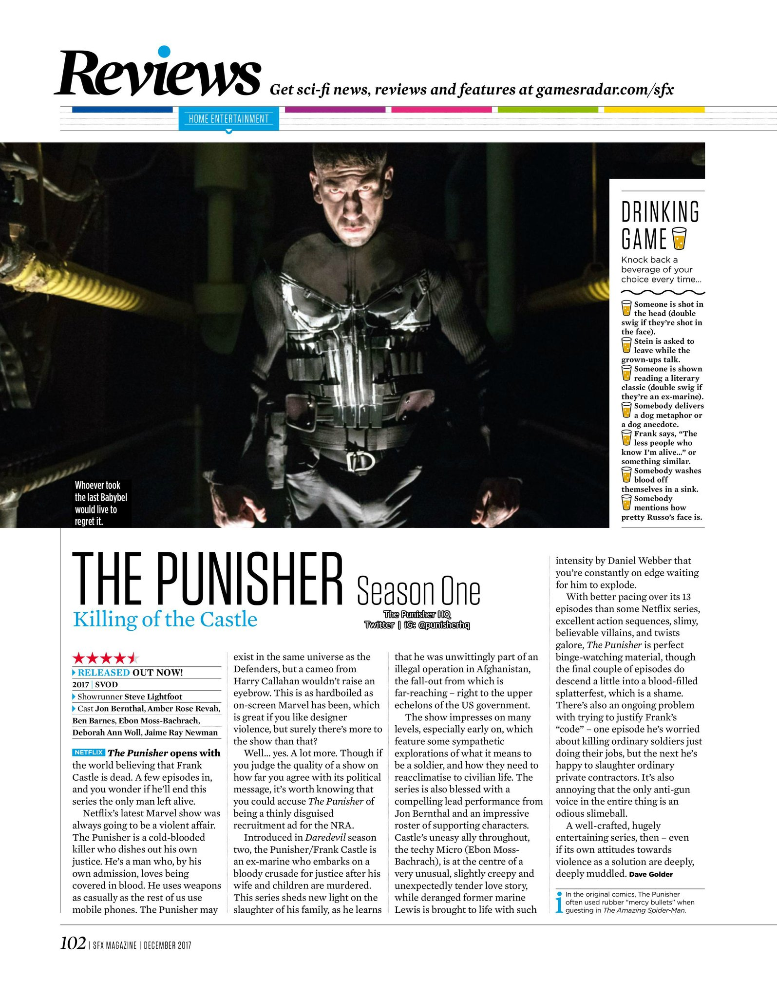 High quality version of The Punisher article.