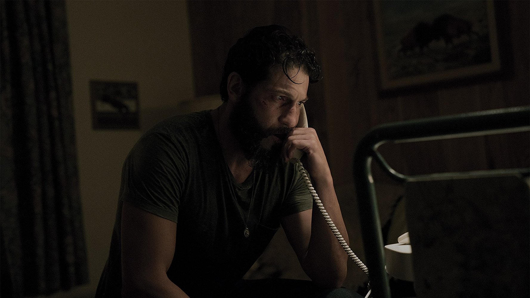 Screenshot from Sweet Virginia starring Jon Bernthal as Sam.