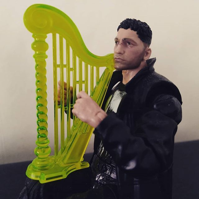 Can Jon Bernthal's version of The Punisher play the harp as beautiful as he plays the guitar? I think so.