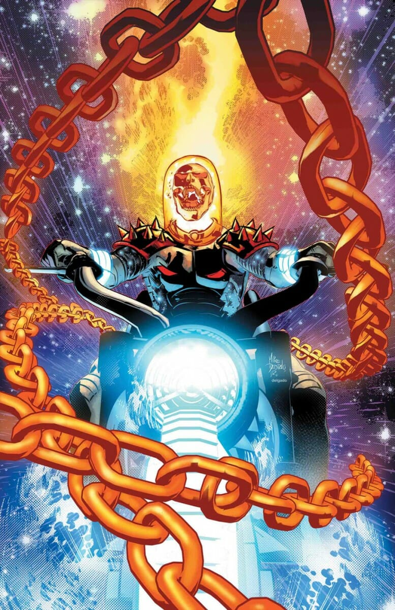 Cosmic Ghost Rider Variant cover #2